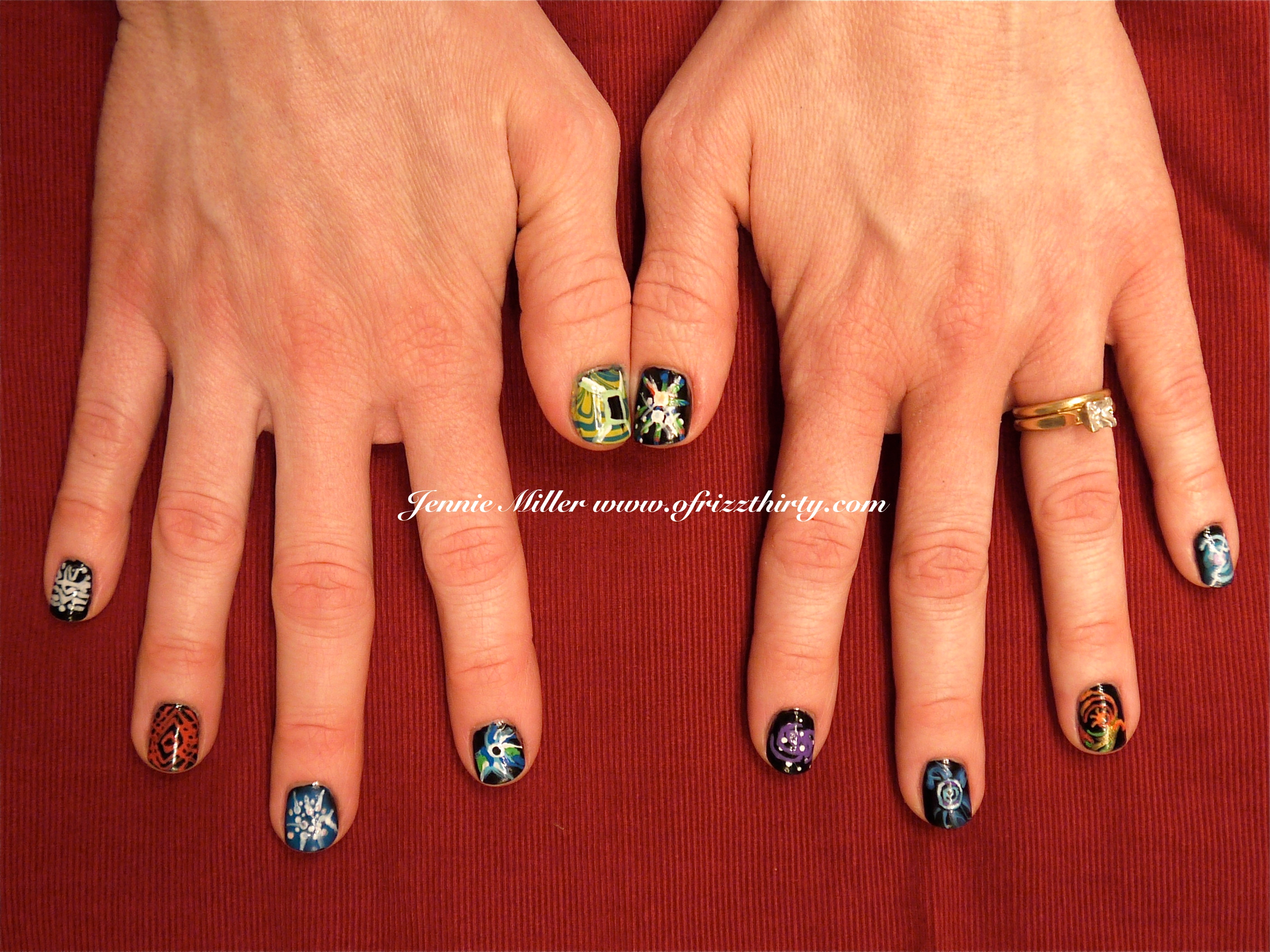 Doctor Who Time Vortex Nails! – O\'Frizz Thirty