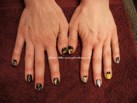 LOTR Fellowship Nails