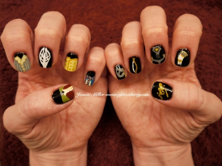 LOTR Fellowship Nails 2