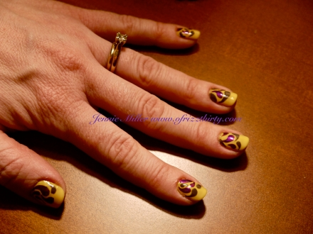 YellowFallNails
